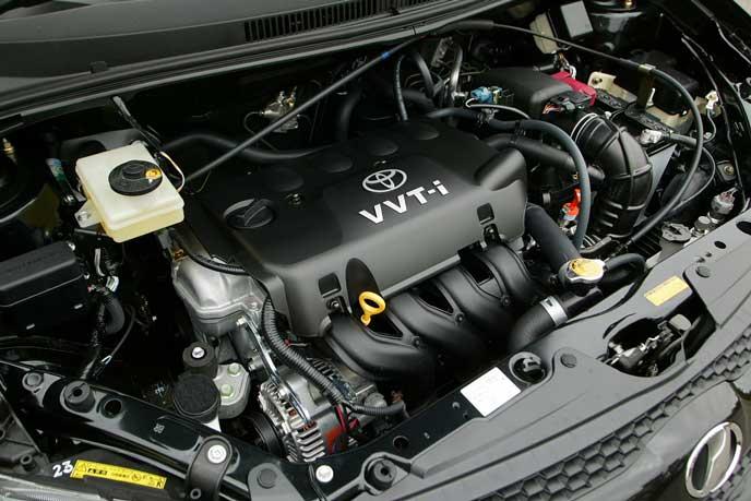 ヴィッツGR・GRスポーツのエンジン