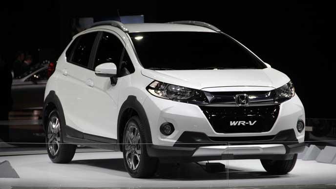 新型WR-Vのエクステリア