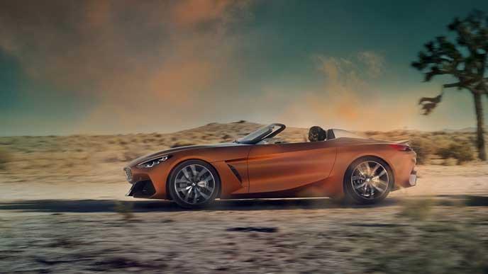 新型スープラの兄弟車BMW Z4