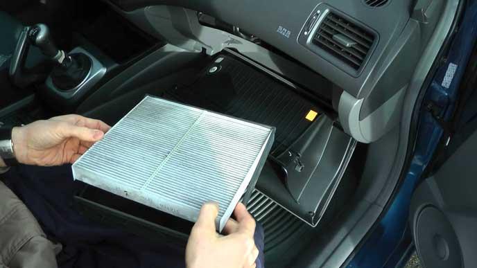 綺麗な空気を車に入れるエアコンフィルター