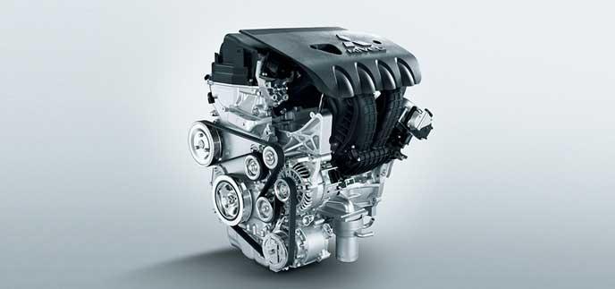 新型デリカD5(D6)のエンジン