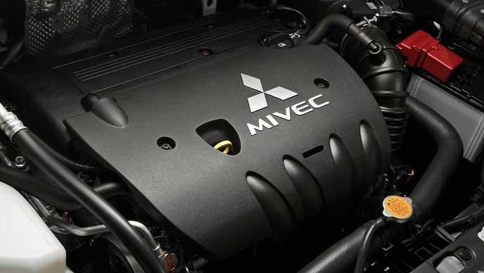 新型グランドランサーのエンジン