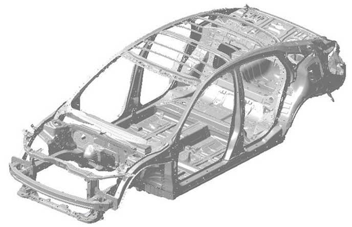 新型CR-Zのプラットフォーム
