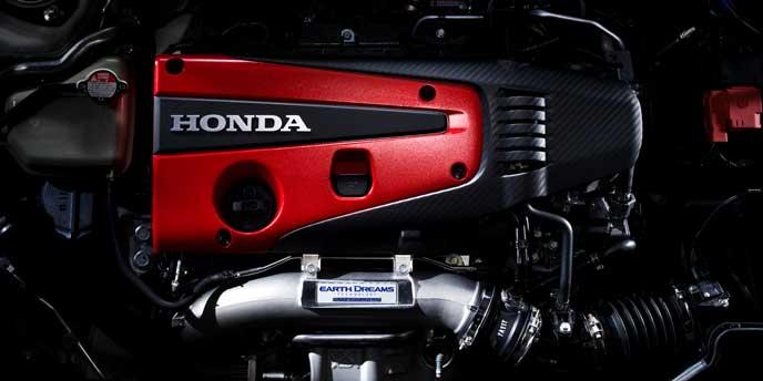 新型CR-Zのエンジン