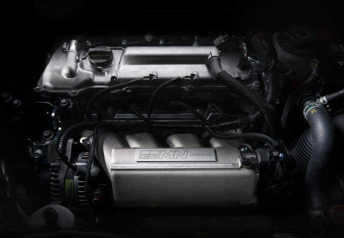 新型ヴィッツGRMNに搭載されたエンジン