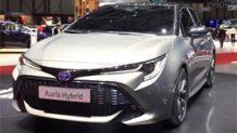 トヨタ新型オーリス フルモデルチェンジでツーリングワゴンを追加