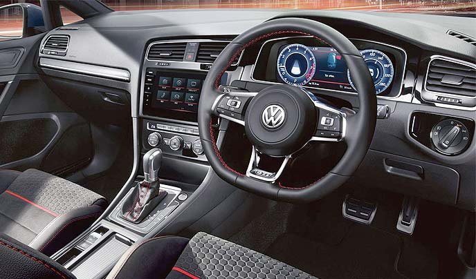 GOLF GTI Performanceのインテリア
