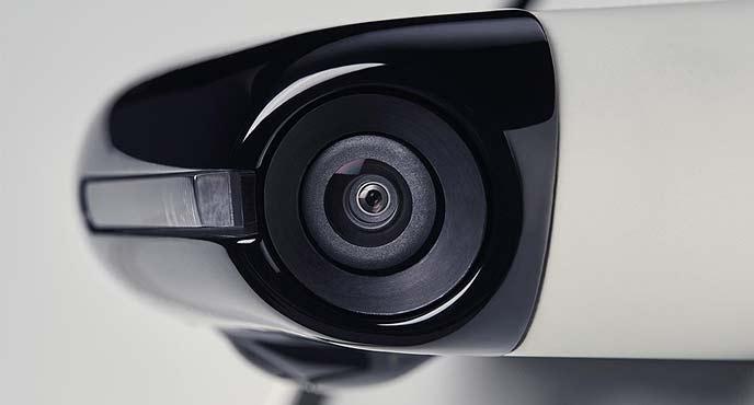 「ホンダe」のサイドカメラミラーシステム