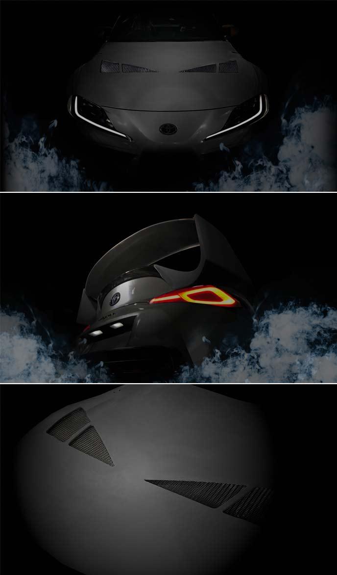 GR Supra 3000GT CONCEPTのティーザーイメージ