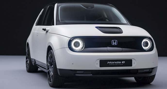 「Honda e(ホンダ イー)」のプロトタイプのエクステリア