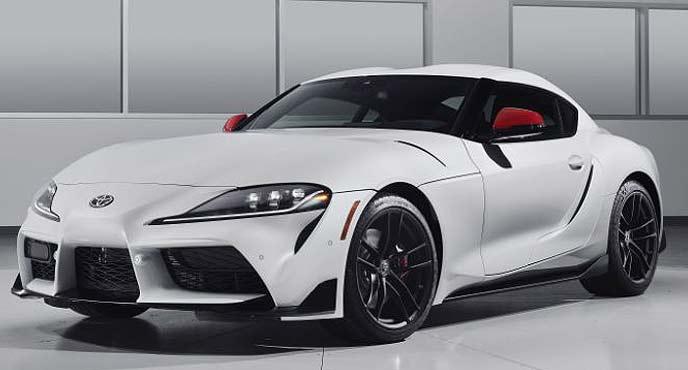 米国仕様の新型スープラ発売記念車「ローンチエディション」