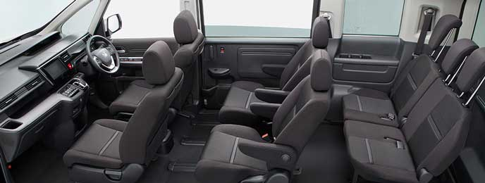 SPADA HYBRID B・Honda SENSINGの内装