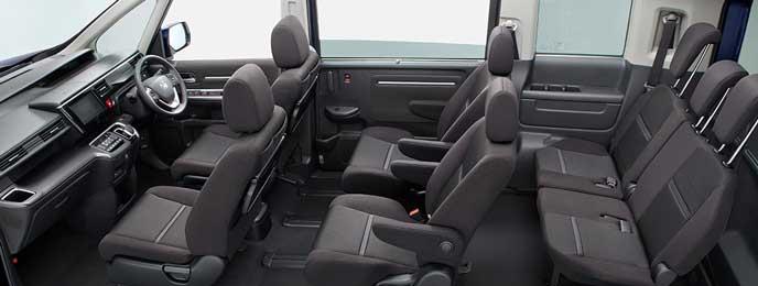 SPADA HYBRID G・Honda SENSINGの内装