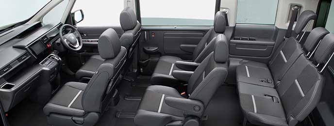 SPADA HYBRID G・EX Honda SENSINGの内装