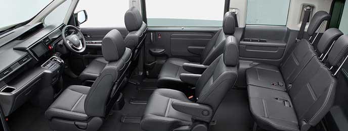SPADA HYBRID G・EX Honda SENSINGの本革内装