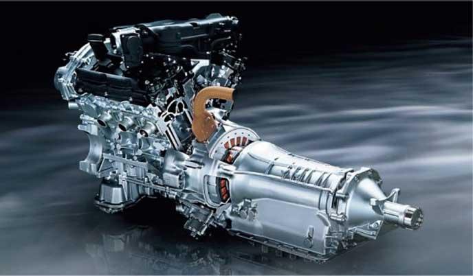 新型スカイラインのエンジン
