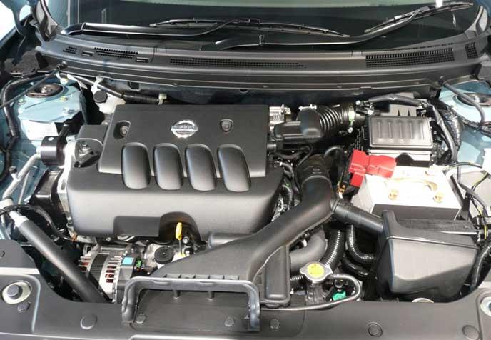 新型セレナに搭載しているエンジン