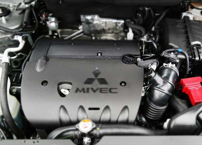 新型RVRのエンジン