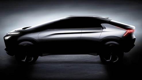 三菱e-エボリューション世界初披露!EVと4WD技術の集大成モデル