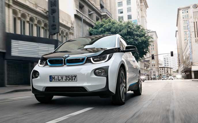 BMWの電気自動車i3
