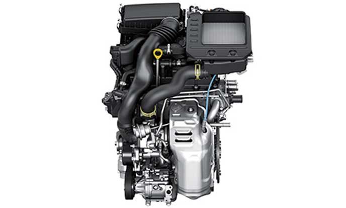 DNトレックのエンジン