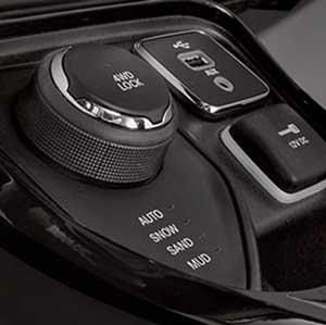 ジープ新型コンパスの4WDセレクテレインシステム