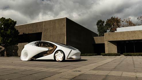 トヨタコンセプト愛iシリーズ ドライバーを理解するAIを搭載した未来の車