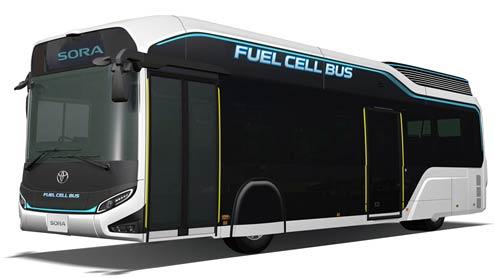 トヨタFCバスSORA 東京オリンピックに向けたコンセプトモデル