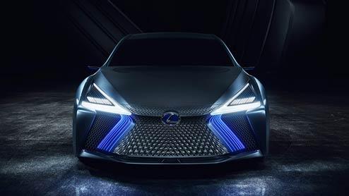 レクサスLS+コンセプト 東京モーターショー2017で世界初公開