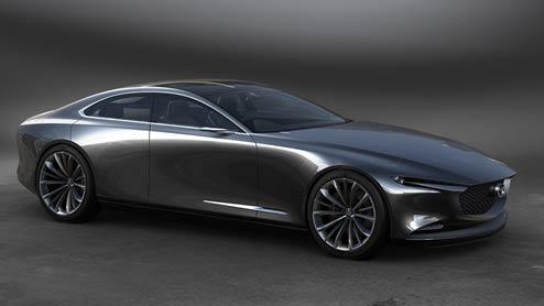 マツダの次世代ビジョンクーペは日本の美を表現したコンセプトカー
