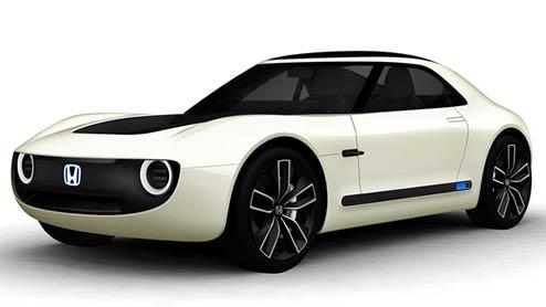 HONDAスポーツEVコンセプトが第45回東京モーターショーで世界初登場