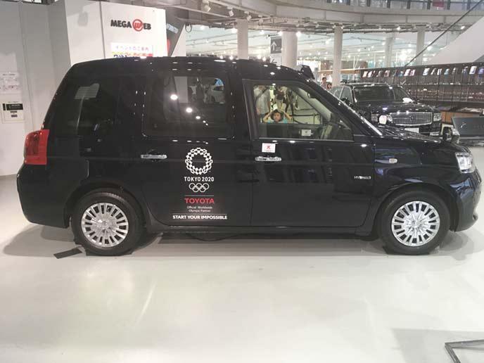 ジャパンタクシーのサイドビュー