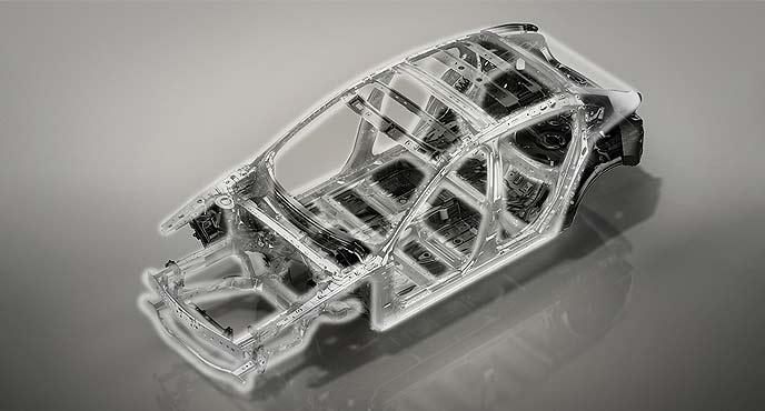 車両構造技術「SKYACTIV-VEHICLE ARCHITECTURE(スカイアクティブ ビークル アーキテクチャー)」