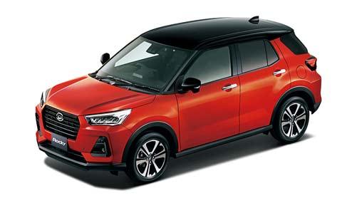 ロッキーが2019年11月5日に新型小型SUVとして復活!DNGAを全面採用