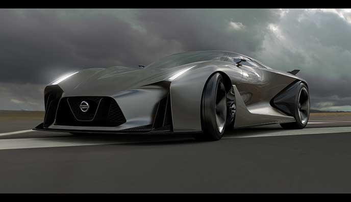 次期GT-Rと噂されるビジョン グランツーリスモ