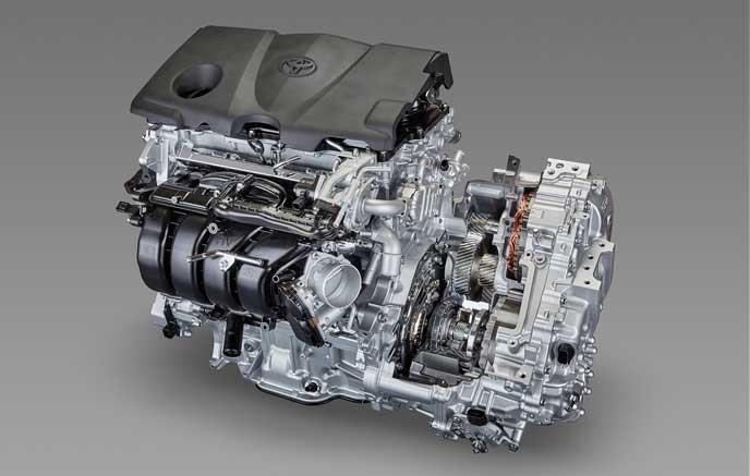 トヨタのハイブリッドシステムTHS2