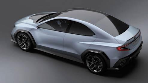 スバル新型WRX STIのフルモデルチェンジは2018年実施