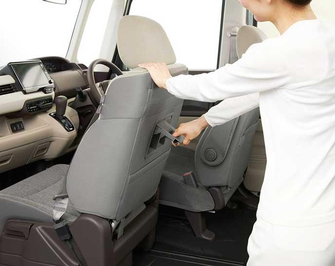 新型N-BOXのスーパースライドシート