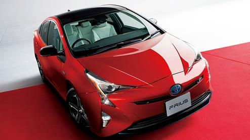 プリウス20周年特別仕様車はプレミアムナッパ本革を使用し2ヶ月限定発売