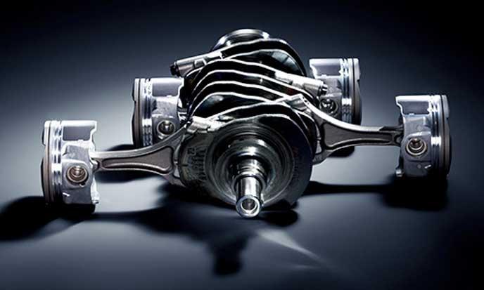 BRZの水平対向エンジン