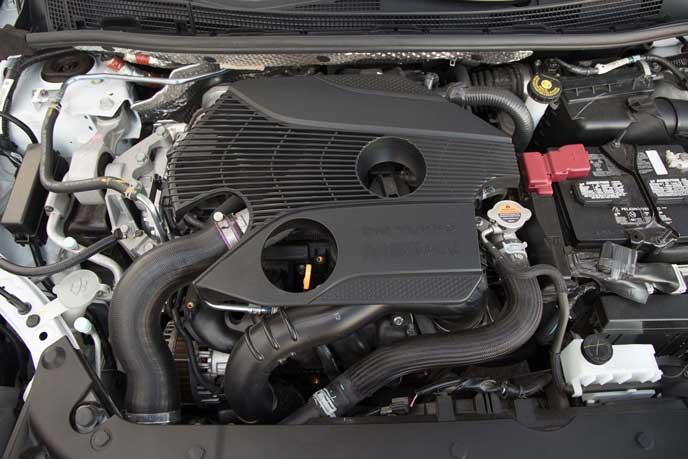 セントラNISMOのエンジン