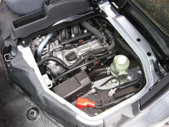 新型ハイゼットのエンジン