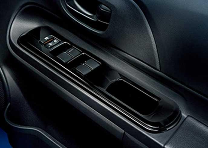 アクア特別仕様車S Style Blackのパワーウインドウ