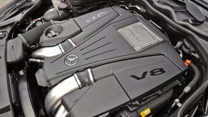 新型CLSのエンジン