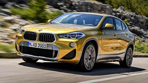 BMW X2はXシリーズの新型車!エクステリアやスペックまとめ