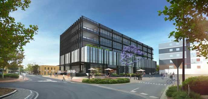 新しく建てられた海外の役所