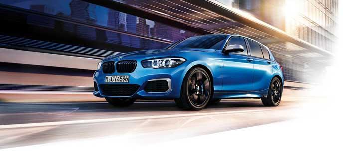 BMW 118iのエクステリア