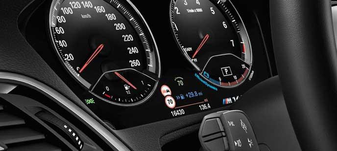 BMW 118iの内装