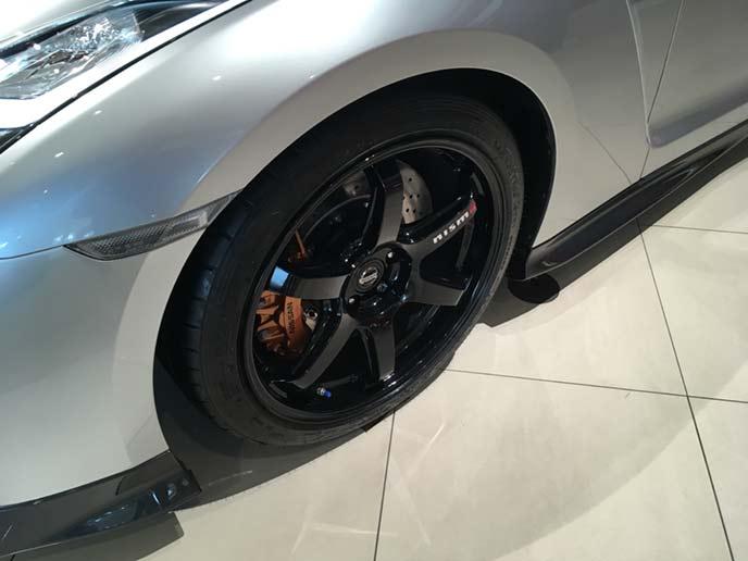 新型GT-Rのホイール