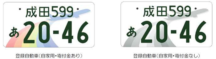 成田のご当地ナンバー